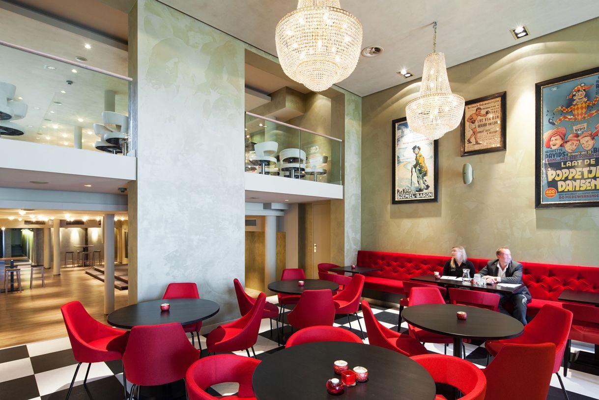 Grand Cafe Foyer Callantsoog : Lensen projectinrichters carré