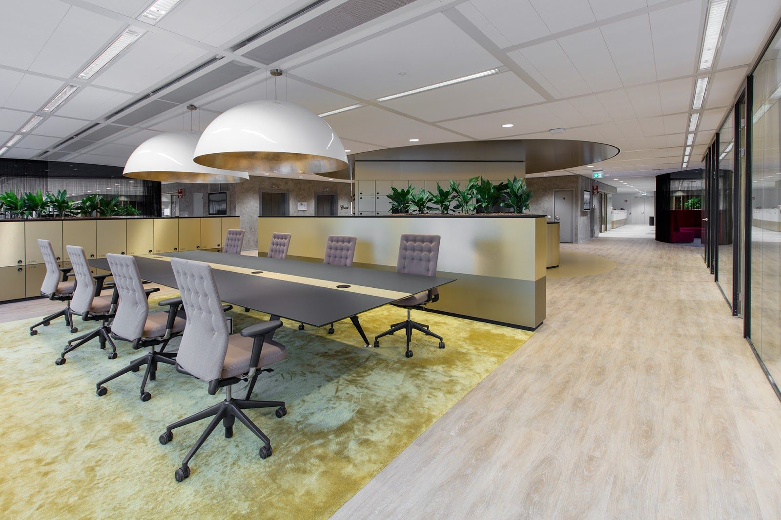Referentie Lensen Projectinrichters van interieur hoofdkantoor Holland Casino